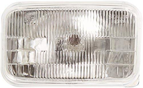 "SYLVANIA H6024 Basic Halogen Sealed Beam Headlight (7"" Round) PAR56, (Contains 1 Bulb)"