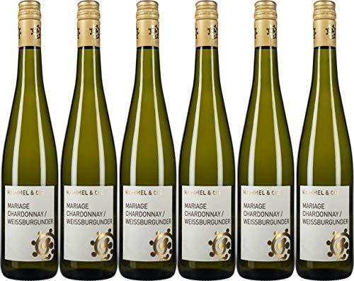 Hammel Mariage Chardonnay & Weißburgunder 2020 Trocken (6 x 0.75 l)