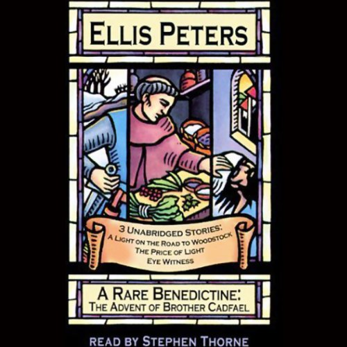 A Rare Benedictine                   By:                                                                                                                                 Ellis Peters                               Narrated by:                                                                                                                                 Stephen Thorne                      Length: 3 hrs and 9 mins     211 ratings     Overall 4.4