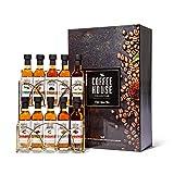 Modern Gourmet Foods - Kaffee Sirup Geschenkset - Probierset mit 10 individuellen Geschmacksrichtungen in Geschenkbox