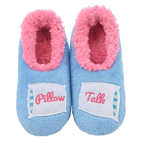 Snoozies Pairables Womens Slippers - House Slippers - Pillow Talk - Large