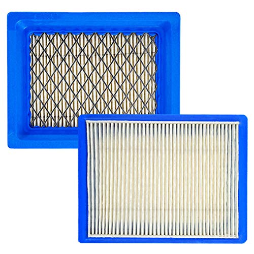 HEYZLASS 2 Pack XT650 Air Filter with Metal Protection, Compatible with Kohler XT675 Engine 14-083-22-S 14-083-22-S1 Lawnboy Toro Lawn Mower Air Filter