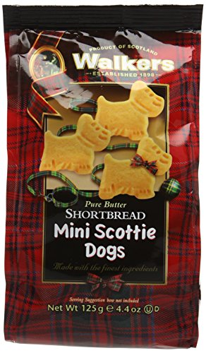 Walkers Shortbread - Mini Scottie Dogs, 125g