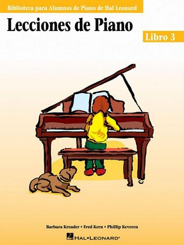 Hal Leonard Student Piano Library: Lecciones De Piano - Libro 3
