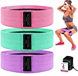 Mrt Pro Resistance Bands for Legs and Butt Exercise Bands - Non Slip Elastic Booty Bands 3 Set, 3 Levels Workout Bands Bubble Butt Sports Fitness Band for Squat Glute Hip Training