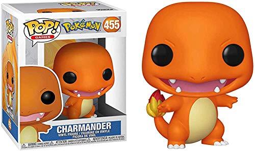 Funko Pop! 37603 Pokémon Charmander Glumanda #455 - Officially Licensed