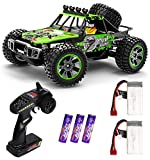 4x4 1:10 LARGE SCALE HIGH-SPEED RC CAR: This 1:10 Scale big size 4 wheel drive high-speed remote control racing car is equipped with high quality and durable components to bring you a great racing experience. The speed is up to 48 km/h powered by 540...