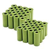 480 Bolsas biodegradables caca perro mejoradas con aditivos EPI