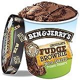 Ben & Jerry's Chocolate Fudge Brownie Helado 500ml (Libre de lácteos) (Pack de 1)