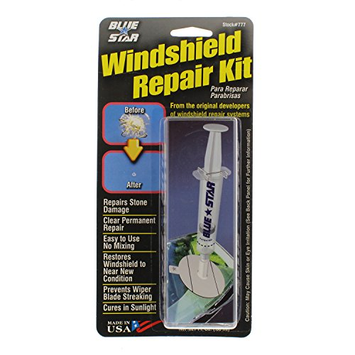 JAAGS - 3 Pack Blue-Star Fix Your Windshield Do It Yourself Windshield Repair Kits, Glass Repair Kit...