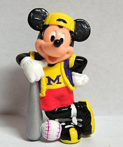 Figur Mickey Mouse Baseball Spieler 6 cm