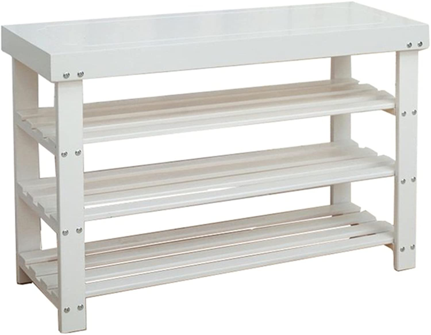shoes Rack Organizer Storage, Solid Wood shoes Bench, shoes Cabinet, Storage Storage Stool, European shoes Rack.