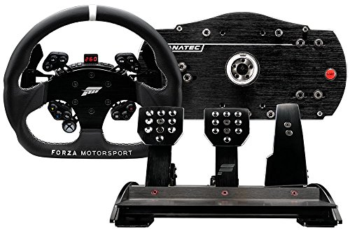 Lot volant de course et pédalier Fanatec Forza Motorsport pour Xbox One et PC