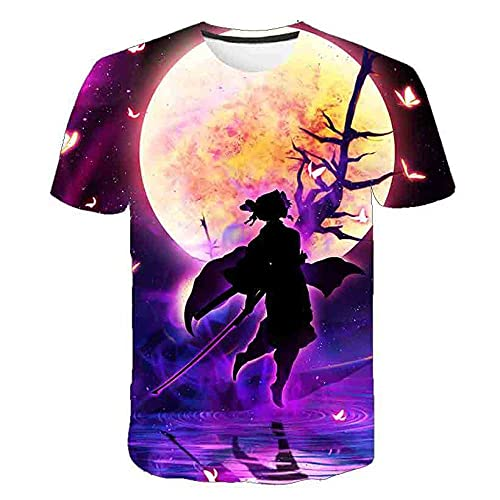 T-Shirt Camiseta de Manga Corta Hecha,Camiseta de Manga Corta 3D de Cuchilla rústica-XT-2263_120