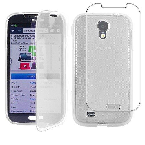 ebestStar - Cover Compatibile con Samsung S4 Galaxy i9500 i9505 Custodia Silicone Portafoglio Gel TPU, Protezione Anti Shock AntiGraffio, Trasparente [Apparecchio: 136.6x69.8x7.9mm, 5.0'']