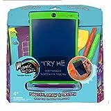 Boogie Board Magic Sketch Color LCD-Schreib-Tablet + 4 Verschiedene Stylus und 9 doppelseitige Schablonen zum Zeichnen, Schreiben und Durchzeichnen eWriter Alter, ab 3 Jahren -