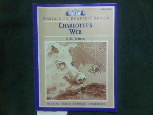 Teia de Charlotte: Livro de atividades reproduzível (Portais para leitura; habilidades de leitura através da literatura)
