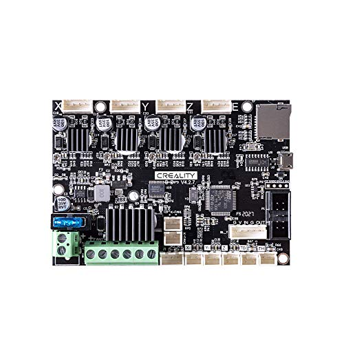 Offical Creality New Upgrade Motherboard Silent Mainboard V4.2.7 for Ender 3 V2 Customized and Non-Standard Matching,Ender 3 V2 Silent Mother Board