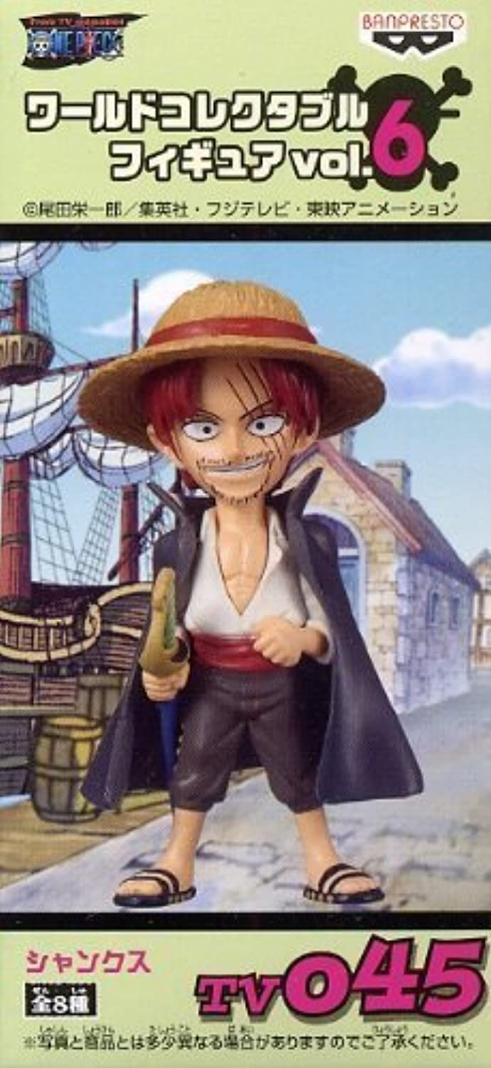 ONE PIECE (One Piece) Sectional World Collectable Figure vol.6 TV045 Shanks