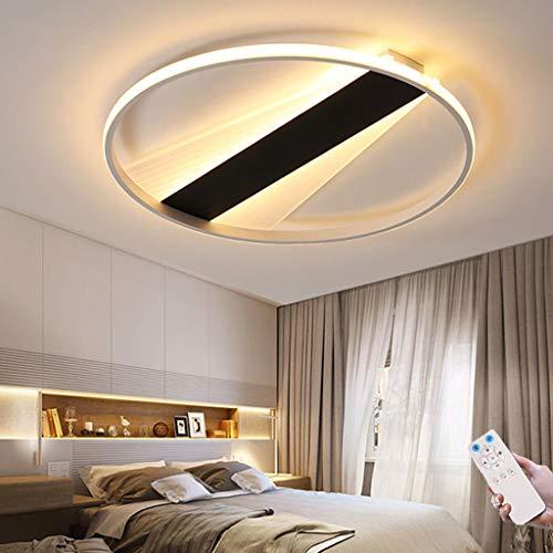 Luz De Techo Para Habitación De Niños Lámpara De Techo LED Dormitorio Cocina Iluminación Interior Control Remoto Forma Redonda Regulable Baño Pasillo Lámpara De Pared Araña De Acrílico (45CM)