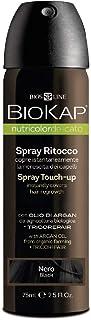 Biokap - Nutricolor Hair Coloring Spray Touch Up Black 2.5 Fl. Oz. 171421