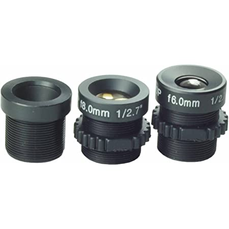 "Fixed Lens 1//3/"" Chipset 16mm 1//4/"" IR 1//4inch Surveillance M12x0.5 Sale"