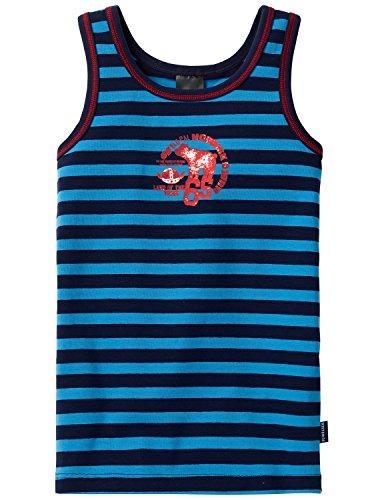 Schiesser Hemd 0/0 Camiseta Tirantes, Azul (Blau 800), 6 años (116 cm) para Niños