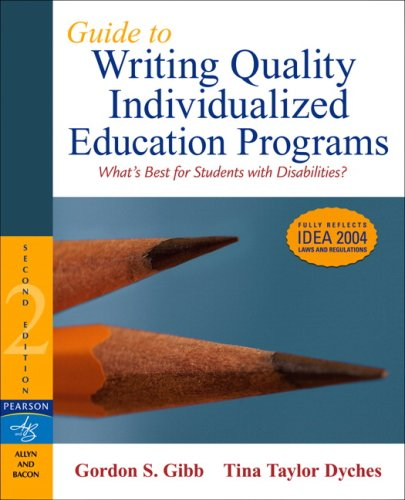 Guide to Writing Quality Individualized Education...