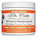 Dr. Cole's Organic Cough Cold Congestion Bath Salts - Extra Strength, Organic