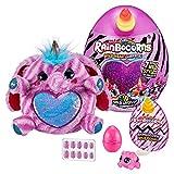 Rainbocorns Wild Heart Surprise Elephant - 11' Collectible Plush Stuffed Animal - 10 Layers of Surprises, Unicorn Slime Mix, Nail Decals, Sparkle Sequin Heart, Ages 3+ by ZURU