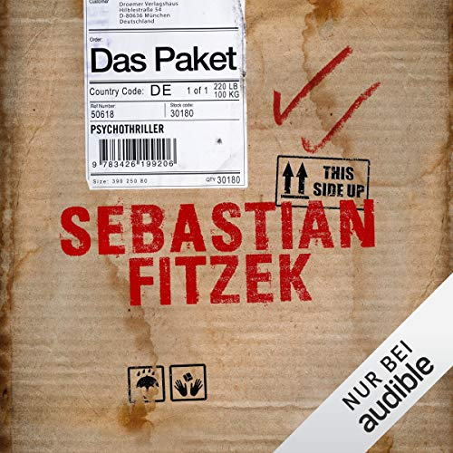 Das Paket                   By:                                                                                                                                 Sebastian Fitzek                               Narrated by:                                                                                                                                 Simon Jäger                      Length: 7 hrs and 29 mins     3 ratings     Overall 4.7