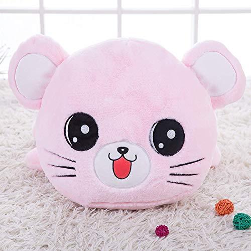 lkhybbgjk El Regalo del día de la niña de la muñeca de Trapo de la muñeca de Trapo de la Almohada del Gato del Juguete de la Felpa Linda del ratón