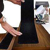 """6""""x30"""" Anti Slip Tape Outdoor Stair Treads Non-Slip (10-Packs) Black Non Slip Tape"""