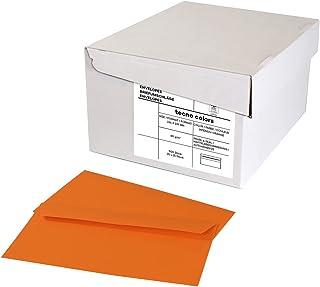 inapa Enveloppen tecno Colors - DIN-C6/5 (114 x 229), 80 g, intens oranje, zelfklevend, zonder venster, 500 stuks (20 x 25)