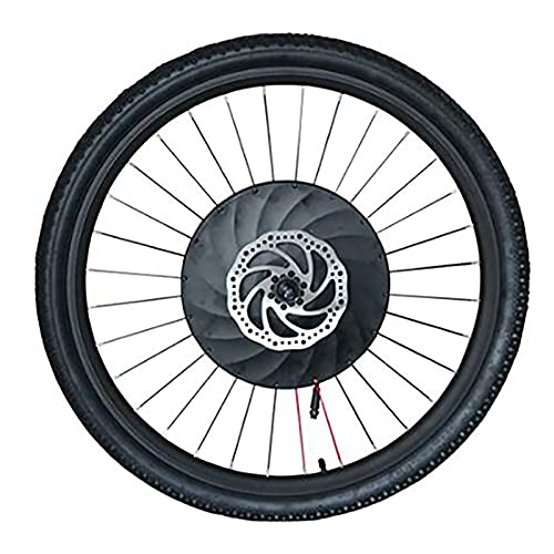 ZOOMLOFT Kit De Conversión De Rueda Delantera De Bicicleta con Batería, 36V 240W De Potencia 30KM/H 20' 24' 26' 27,5' 29' 700C Kit De Conversión De Bicicleta Eléctrica,V Wire Control,700C