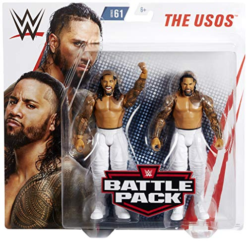 Ringside The Usos (Jimmy USO & Jey USO) - WWE Battle Packs 61 Mattel Toy Wrestling Action Figure 2-Pack