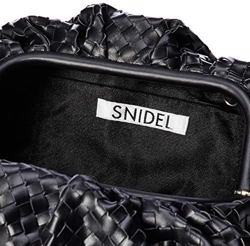 SNIDEL(スナイデル)『ギャザークラッチバッグ』