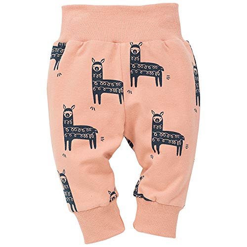 Pinokio - Happy Llama - Baby Leggings - 95% katoen met elastische band | Unisex joggingbroek, Harembroek Pumpbroek Leggings | Graphite of Oranje