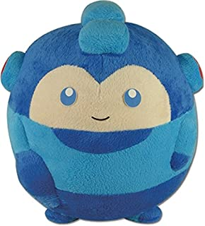 GE Animation Mega Man 10 GE-52247 Mega Man Ball-Shaped Stuffed Plush, 8