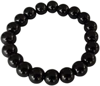 CrystalAge Pendentif pointe en tourmaline Noir