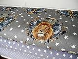 Lottashaus Jersey no26 Stoffpaket 3 Stück 50x70cm Löwe
