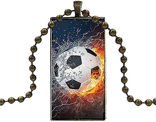BEISUOSIBYW Co.,Ltd Collar Collar de béisbol Fútbol Voleibol Baloncesto en Agua y Fuego
