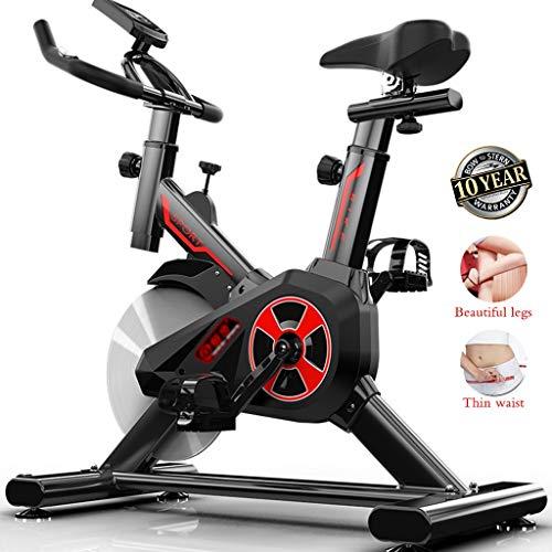 SYHSZY Bicicletas estáticas y de Spinning Bicicleta De Eiercicio En Casa Bicicleta De Spinning Casera Ciclismo En Interiores Bicicleta De Ejercicios Ultra Silenciosa Y Entrenador De Abdominales