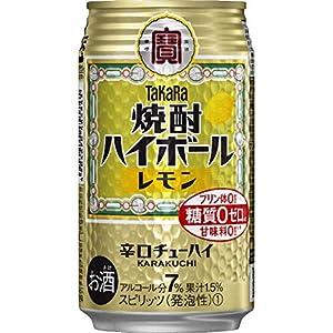 「タカラ『焼酎ハイボール』<レモン>」