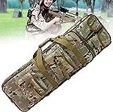 LSWKG Bolsa Táctica Funda para Arma Acolchado con Correa de Hombro Bolsa de Transporte Vaina para Caza Disparando (Color : Camouflage, Size : 1.2m)