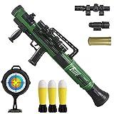 FeiWen Juguete Lanzador de Cohetes Jedi Puede Disparar una Pistola de Bala Suave de mortero Modelo Militar Eyección eléctrica Juguetes de los niños