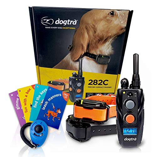 Dogtra 282C Two Dog Remote Training Collar - 1/2 Mile Range, Rechargeable, Waterproof - Plus 1...