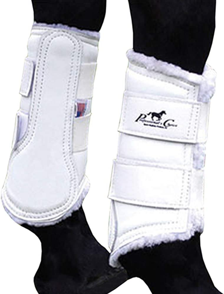 Professionals Popularity Choice Equine Leather Boot Pair Superior Front Protection