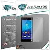 Slabo 4 x Bildschirmschutzfolie kompatibel mit Sony Xperia M4 Aqua Bildschirmfolie Schutzfolie Folie Zubehör No Reflexion MATT