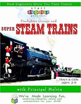 DVD Start Smarter: Firefighter George & Super Steam Trains Book
